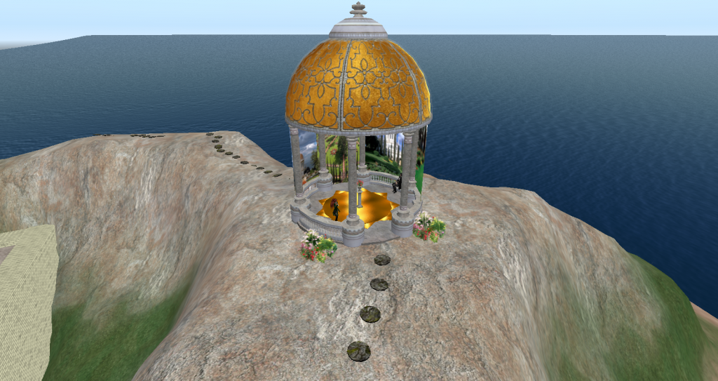 Baha'i Memorial Pavilion at Entre Nous Island