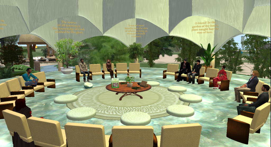 Lotus Temple Interfaith Prayer Circle
